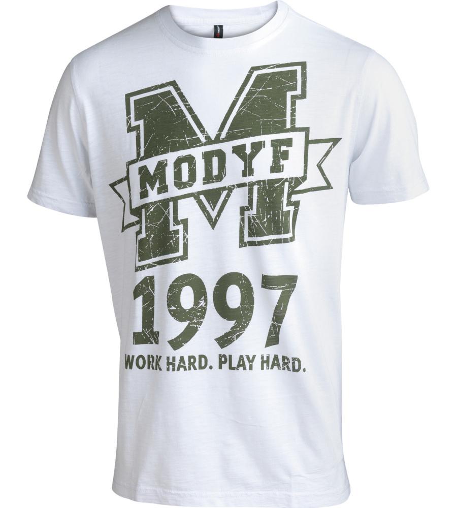 T-Shirt Logo Weiss - Gr. XS