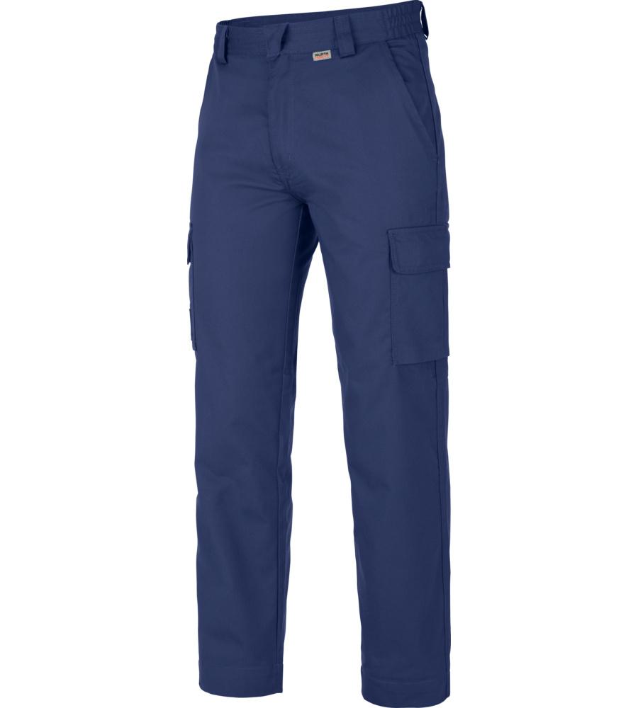 Pantalon De Travail 100% Coton Classic Würth Modyf Bleu Royal