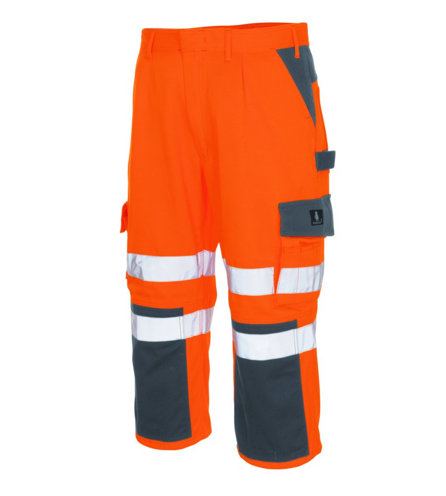 Knielange Mascot Arbeitshose In Orange