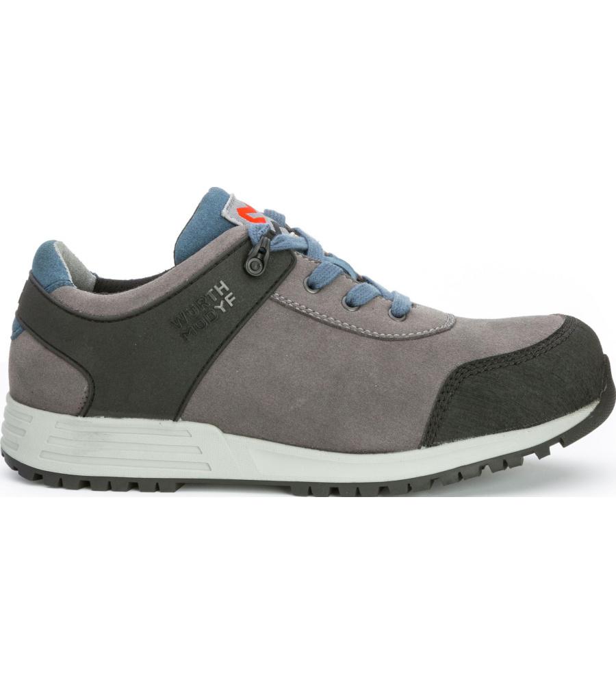 Zapato de seguridad s3 nature gris for Botas de seguridad s3