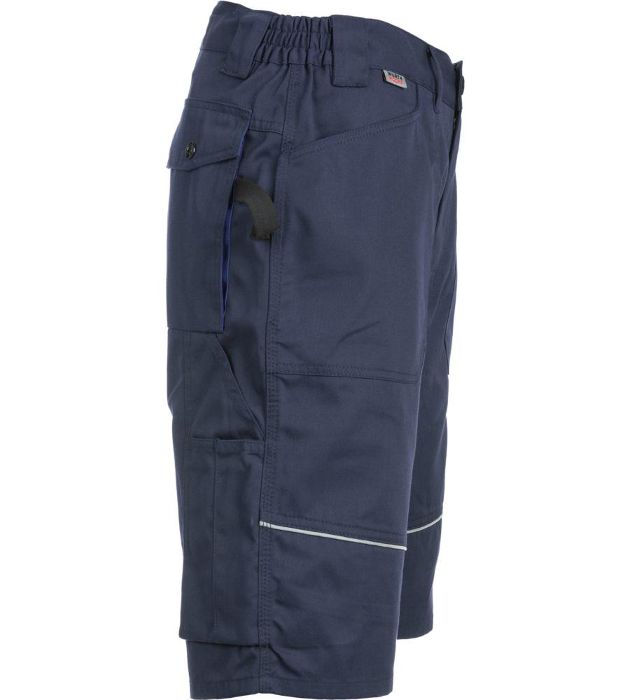 bfc30d025cfc9b ... Arbeitsbermuda für den Sommer, Farbe dunkelblau, funktionelle Taschen,  sportlicher Look, Polyester und ...