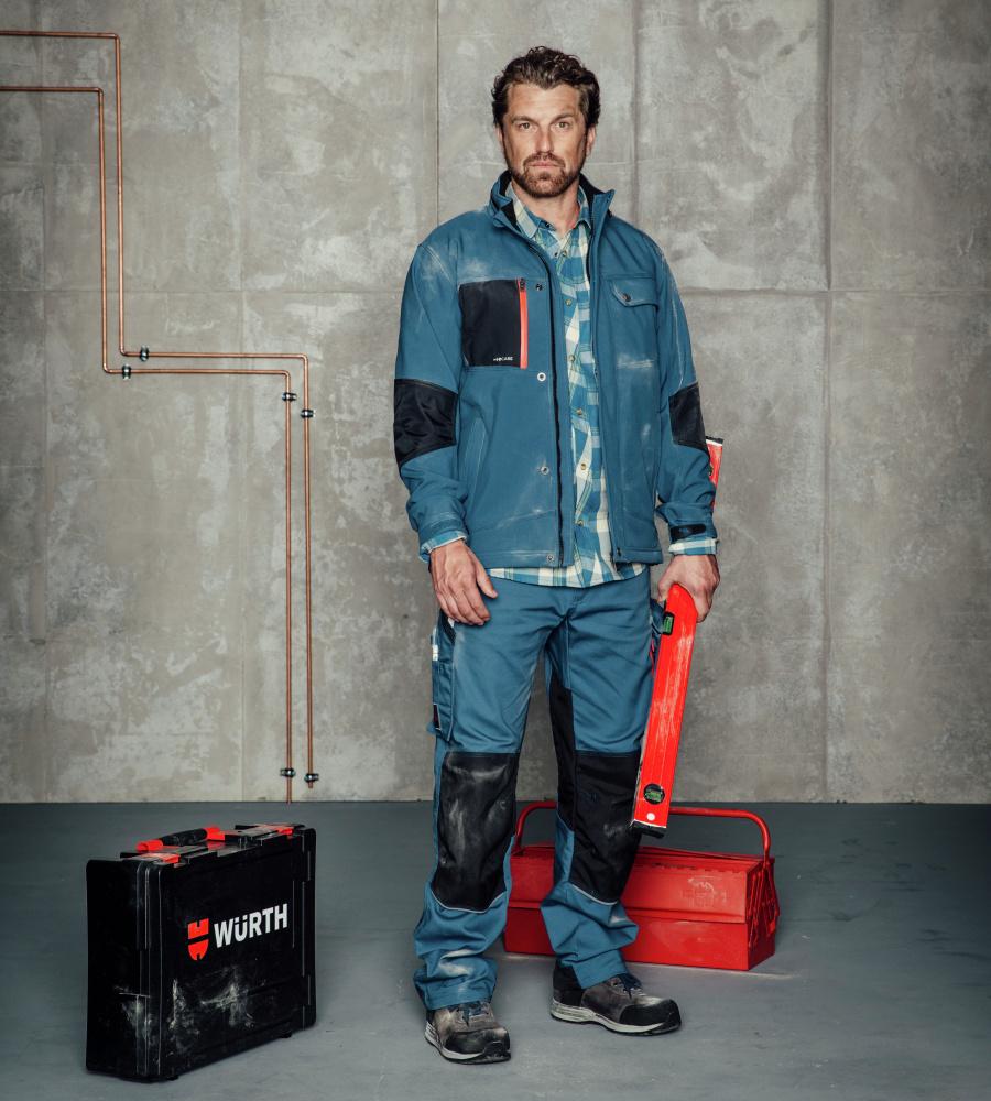 Creative Softshelljacke Nature Granitgrau Kleidung Arbeitskleidung & -schutz