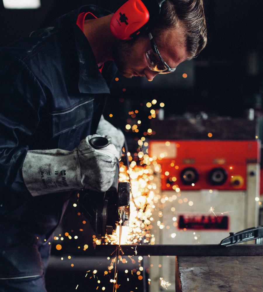... Blauer Arbeitsoverall für Mechaniker, aus hochwertiger Baumwolle,  günstig und bequem ... 69a9eb0b1b