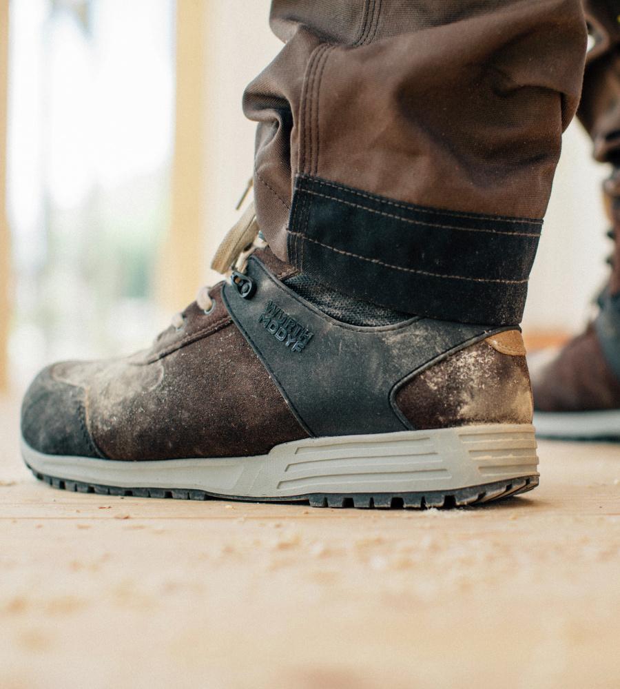 Haute Modyf S3 Src Würth Chaussures De Travail Naturellement Esd, Brun