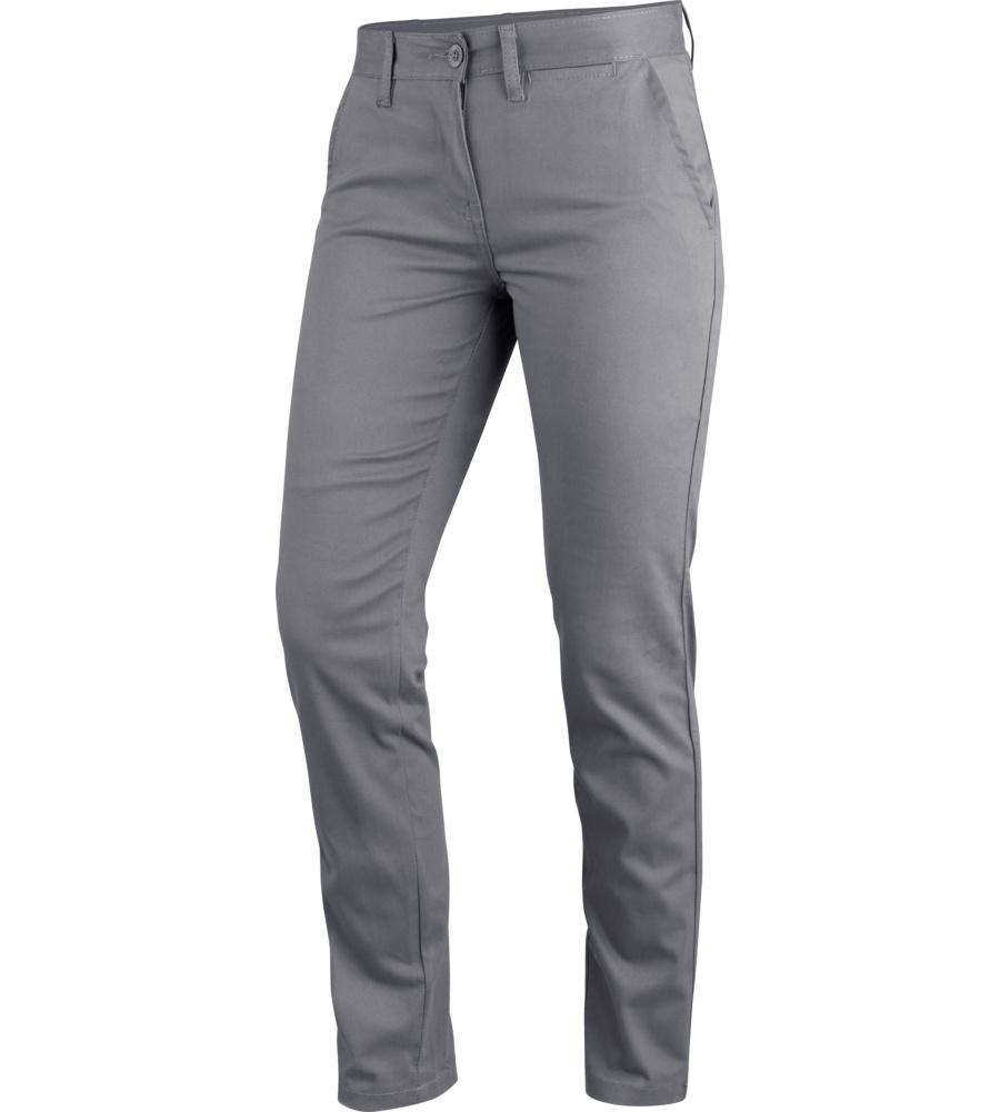 040c595ab4 Pantalón de trabajo Casual de mujer gris