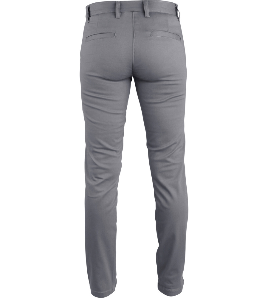 Pantalon professionnel femme en Chino Würth MODYF gris 25e99bb55c5f
