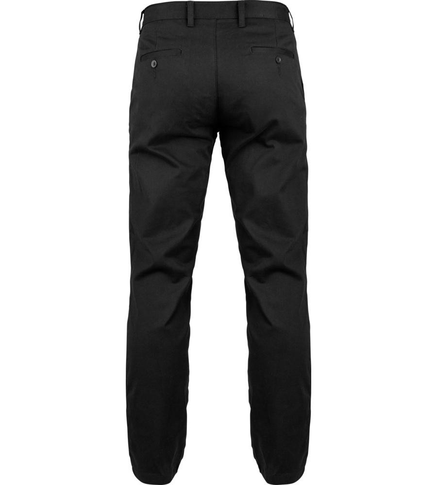 Pantalone nero da ufficio comodo e elastico