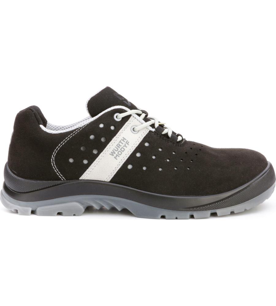 metallfreie sneakers in schwarz mit esd ausstattung. Black Bedroom Furniture Sets. Home Design Ideas