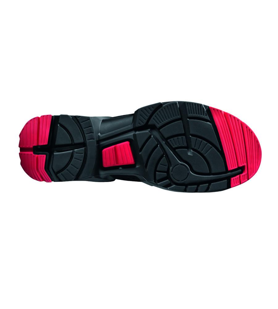 sportliche esd sicherheitsschuhe uvex 8516 2 in schwarz. Black Bedroom Furniture Sets. Home Design Ideas