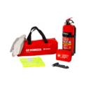 Notfallset und Verbandskasten