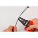 Pince coupe colliers plastiques et coupe câble - PINCE COUPE COLLIERS PLASTIQUES - 2