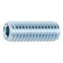 ISO 4026 acciaio 45H zincato bianco - GRANO-EI-P-TRONCO-ISO4026-45H-ZNB-M3X4 - 1