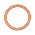 Sealing ring, copper, shape A