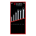 Double-end box wrench set, extra long