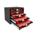 Stapelschrank Set mit ORSY System-Koffer 8.4.1