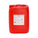 Acidic milking plant cleaner