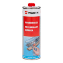 Pre-cleaner for adhesives