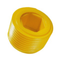 Plastic sealing plugs