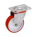 Roulette de manutention - ROUE POLYU RGE INOX D100MM PIVOTAN - 1