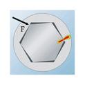 Hexagon socket bit - BIT-INHEX-WS3-1/4IN-L25MM - 0