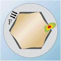 Hexagon socket bit - BIT-INHEX-WS3-1/4IN-L25MM - 2