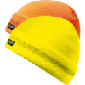 High-visibility protective knitted hat