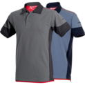 Stretch-fit polo shirt