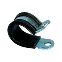 Pipe and fastening clamps with straps