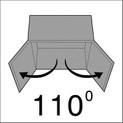 Furniture hinge  EasyClick - HNGE-EACL-D-SCRON-52/5,5-110-C00 - 1