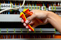 VDE oldalcsípő fogó DIN ISO 5749, IEC 60900 - ZEBRA VDE OLDALCSÍPŐ FOGÓ L 160MM - 2