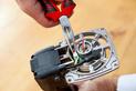 Szczypce półokrągłe DIN ISO 5745 - SZCZYPCE ZEBRA PŁASKIE KŠT45ST 210 - 1