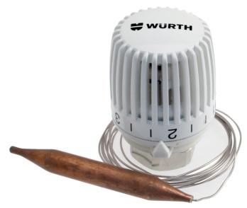 Testa termostatica con sonda a distanza 0878901588 for Testina termostatica