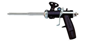 Pistolet m tallique mousse pu monocomposant - Pistolet mousse polyurethane ...