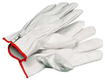 Gant de cuir à pouce renforcé
