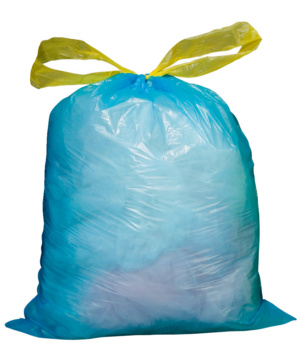Bin bag with handles
