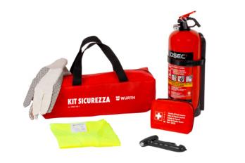 Kit di sicurezza e pronto soccorso