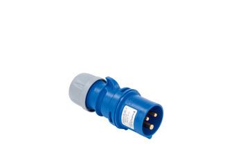 CEE-stekker 250 V/400 V, 6 H