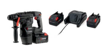 Kit martello H28-MA con Power Pack 5Ah con mandrino fisso SDS - Plus - KIT-MART-H28MA-MAND-FISSO-POWERPACK-5AH