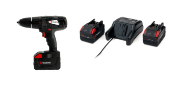 Kit trapano BS28-A Combi con Power Pack 5Ah - KIT-TRAPANO-BS28-COMBI-POWERPACK-5AH