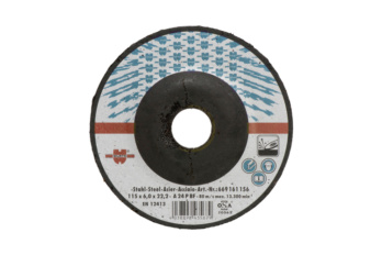 Rough grinding disc for steel