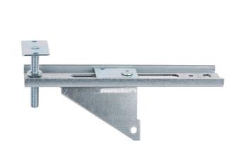 带高度调整板的窗户安装架 JB-DK