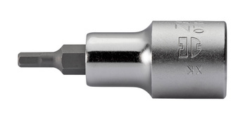 1/2 inch socket wrench insert, metric