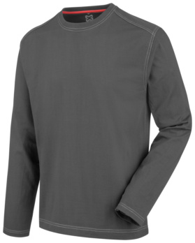 TEE-SHIRT MANCHES LONGUES PRO ANTHRACITE