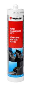 Fire-retardant and noise-protection acrylic