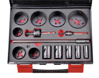 Set seghe cilindriche HSS bimetalliche - ASS-SEGHE-TAZZA-HSS-BIMET-19-76-16PZ
