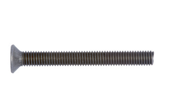 Countersunk head screw with recessed head, H