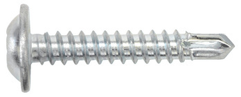 Pan head drilling screw with collar and H recessed head pias<SUP>®</SUP>