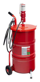 Pompe à graisse pneumatique, mobile