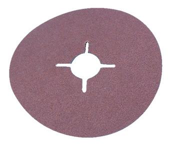 Disco de fibra vulcanizada de corundo normal