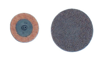 Small abrasives Mini fleece disc